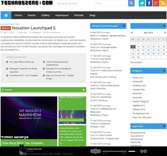 technoszene.com liefert euch täglich neues rund um elektronische Musik, Nightlife und Lifestyle
